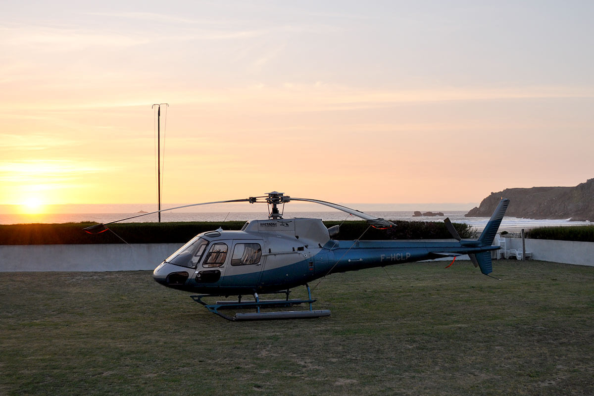 sortie hélicoptère pointe du raz
