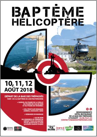 baptème hélicoptère la pointe du raz
